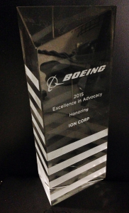 Boeing Excellence in Advocacy Award