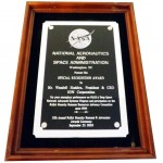 NASA Special Recognition Award